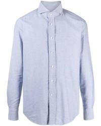 hellblaues Langarmhemd von Tagliatore
