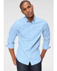 hellblaues Langarmhemd von Tommy Hilfiger