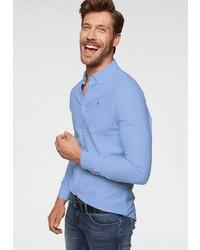 hellblaues Langarmhemd von Tommy Jeans