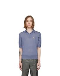 hellblaues Polohemd von Prada