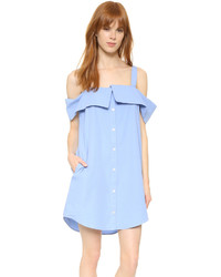 hellblaues schwingendes Kleid von Clu
