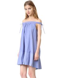 hellblaues schwingendes Kleid von Cynthia Rowley