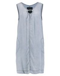 hellblaues schwingendes Kleid von Diesel