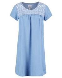 hellblaues schwingendes Kleid von Esprit