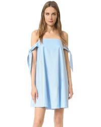 hellblaues schwingendes Kleid von Rebecca Minkoff