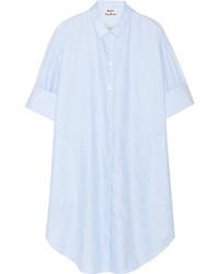 hellblaues Shirtkleid von Acne Studios