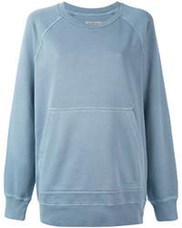 hellblaues Sweatshirt von Burberry