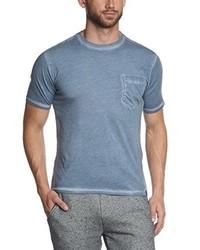 hellblaues T-Shirt mit einem Rundhalsausschnitt von Dockers