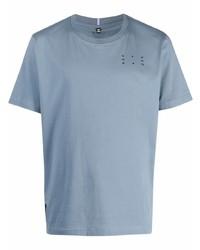 hellblaues T-Shirt mit einem Rundhalsausschnitt von McQ