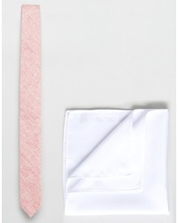 hellviolette Krawatte von Asos