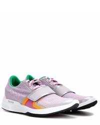 hellviolette niedrige Sneakers