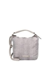 hellviolette Shopper Tasche aus Leder von Fritzi aus Preußen