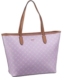 hellviolette Shopper Tasche aus Leder von Joop!