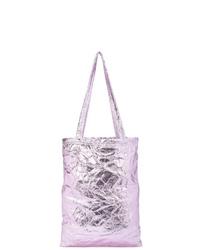 hellviolette Shopper Tasche aus Leder von Sies Marjan