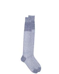 hellviolette Socken von Fashion Clinic Timeless