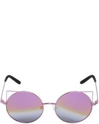 hellviolette Sonnenbrille