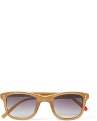 hellviolette Sonnenbrille von Oliver Spencer