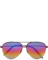 hellviolette Sonnenbrille von Victoria Beckham