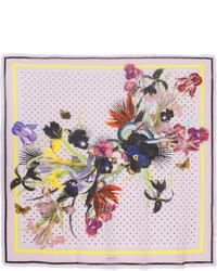 hellvioletter bedruckter leichter Schal von Givenchy