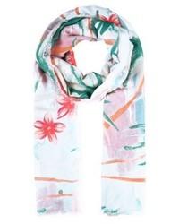 hellvioletter bedruckter Schal von Esprit