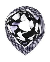 hellvioletter bedruckter Schal von McQ Alexander McQueen
