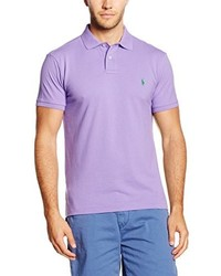 hellviolettes Polohemd von Polo Ralph Lauren