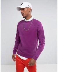 hellviolettes Sweatshirt von Asos