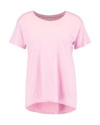hellviolettes T-Shirt mit einem Rundhalsausschnitt von Jdy