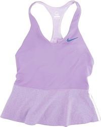 hellviolettes Trägershirt von Nike