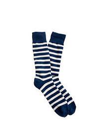 horizontal gestreifte Socken
