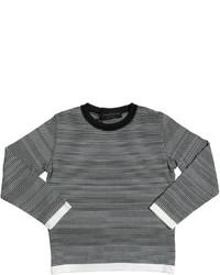 horizontal gestreifter Pullover