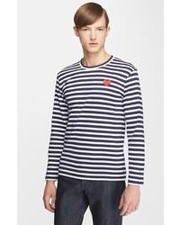Horizontal gestreiftes langarmshirt original 9728122