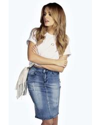 Jeans bleistiftrock original 7881559
