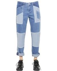 Jeans mit Flicken