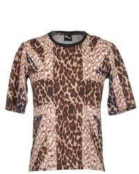 Langarmhemd mit Leopardenmuster
