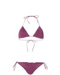 lila Bikinioberteil von Oseree