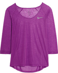 lila Bluse von Nike