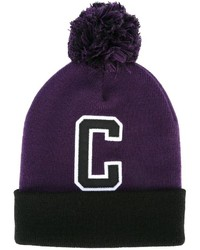lila Mütze von Carhartt