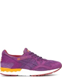 lila niedrige Sneakers von Asics