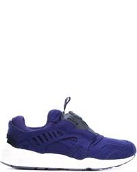 lila niedrige Sneakers von Puma