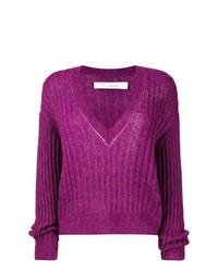 lila Oversize Pullover von IRO