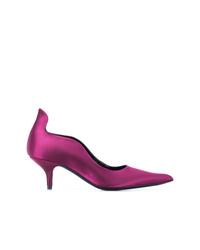 lila Satin Pumps von Calvin Klein 205W39nyc