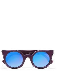 lila Sonnenbrille von Fendi