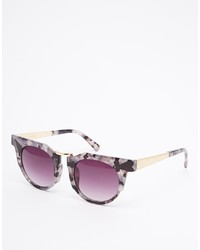 lila Sonnenbrille von Jeepers Peepers