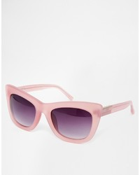 lila Sonnenbrille von Linda Farrow