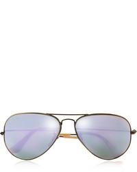lila Sonnenbrille von Ray-Ban