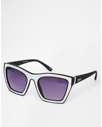 lila Sonnenbrille