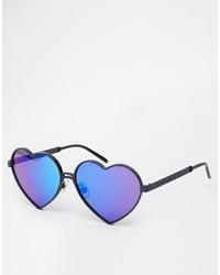 lila Sonnenbrille von Wildfox Couture