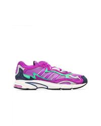 lila Sportschuhe von adidas