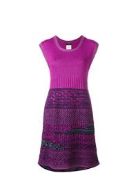 lila Sweatkleid von Chanel Vintage